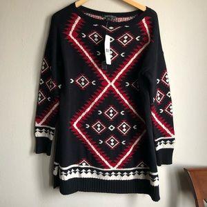 Lauren Ralph Lauren Aztec Print Sweater